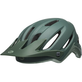 Bell 4Forty Helmet cliffhanger matte/gloss dark green/bright green